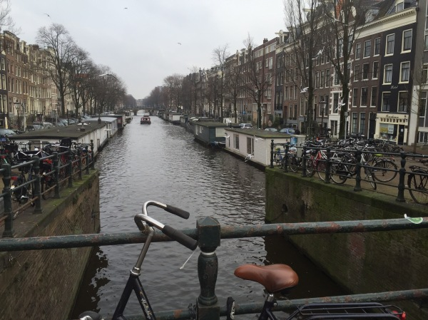 Another canal view - Amsterdam